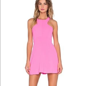 NWT NBD X The Naven twins pink dress size Small